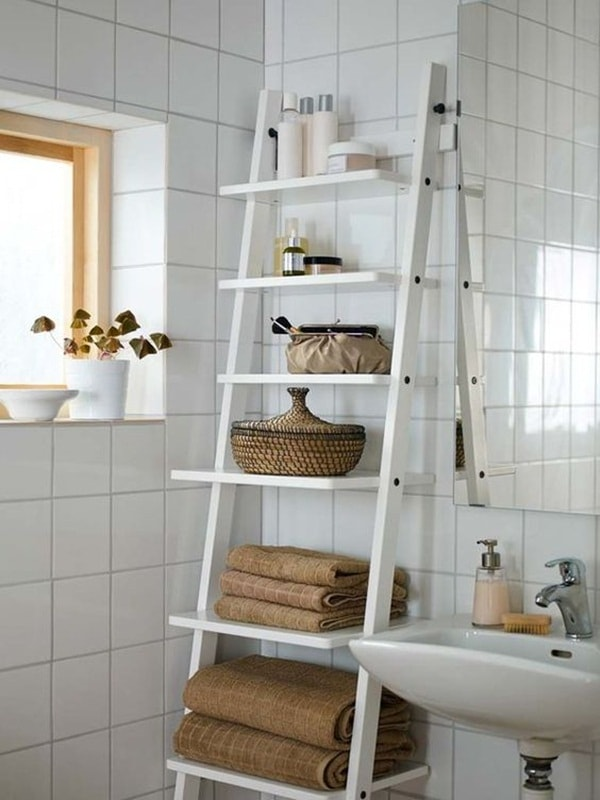 DIY Trending Decor - Amazing Decorating With Ladders 8