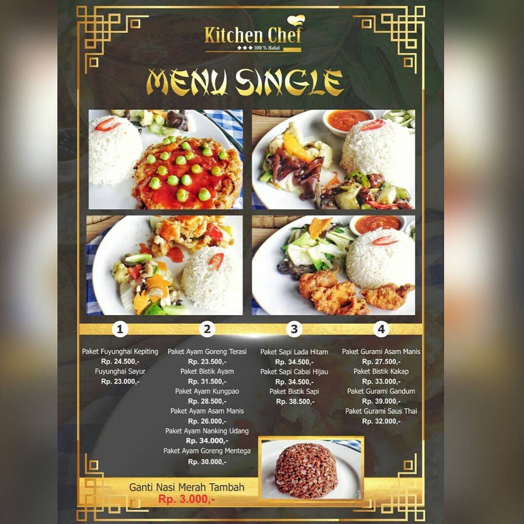 Kitchen chef asian and western food purwokerto