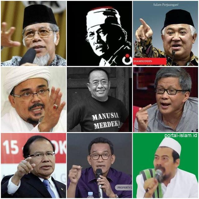 K.H. Najih Maemoen Putra Mbah Moen Masuk Sembilan Tokoh Pimpin Oposisi?