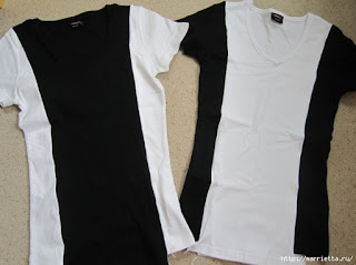DIY cómo hacer camisetas para parecer más delgada