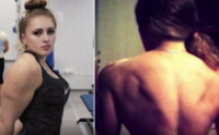 Julia Vins, this 18-year-old girl,opposite sex,physique strong,arm strong girl,best hawk