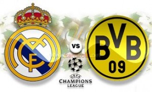CHAMPIONS LEAGUE : REAL MADRID V BORUSSIA DORTMUND