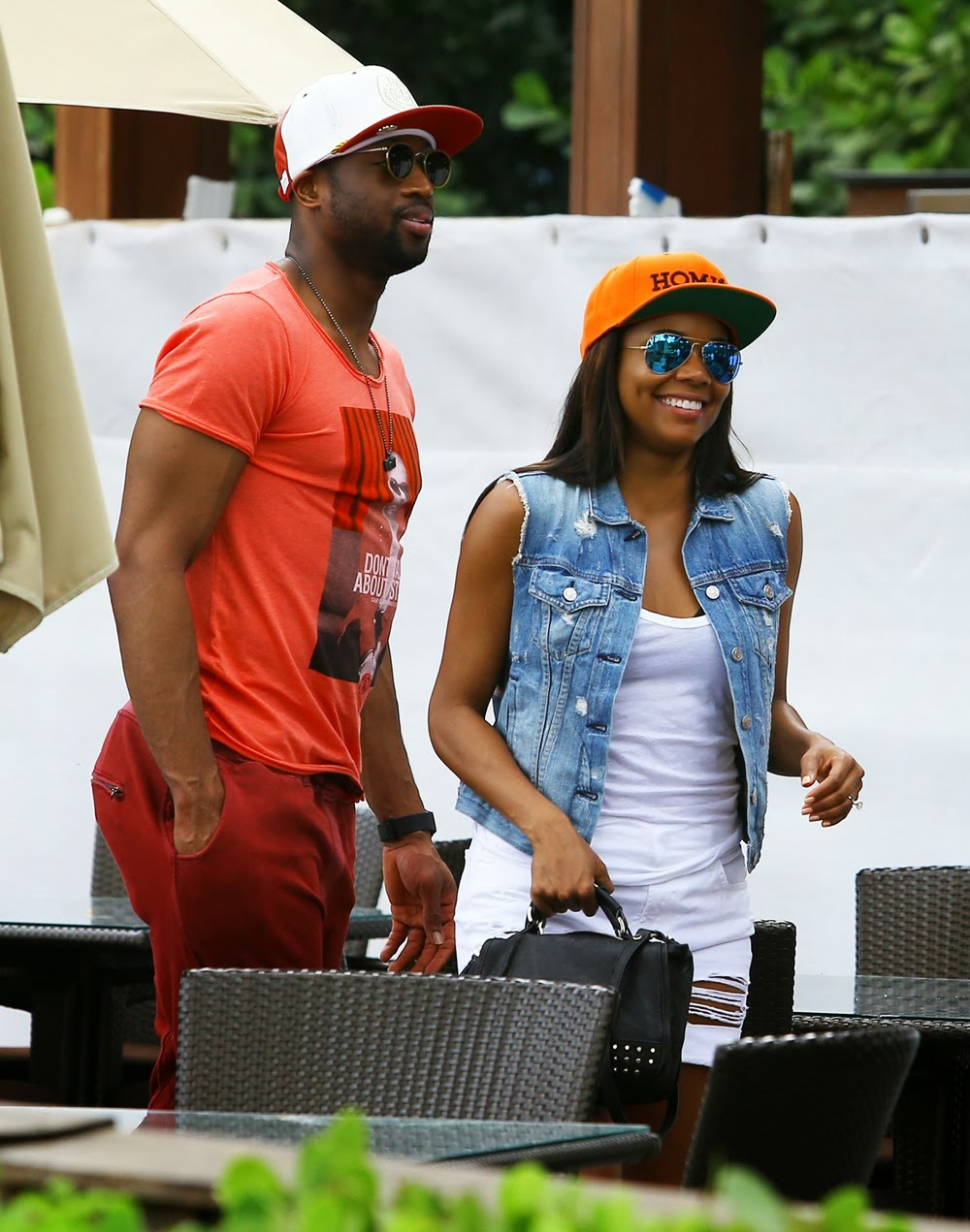dating union Gabrielle union is reportedly expecting a baby with her fiancé, dwayne wade, according to a new mediatakeout report buzz about gabby's pregnancy comes after dwyane revealed he fathered a child with an ex, aja metoyer, just months before proposing to gabrielle in dec 2013.