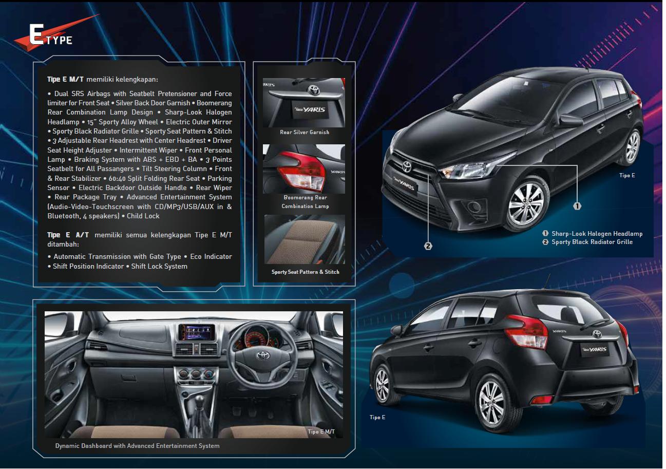 Harga Grand New Avanza Otr Medan All Alphard Executive Lounge Brosur Yaris 2016 Toyota Auto 2000 2017