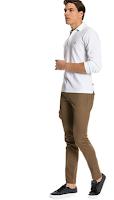 Kahverengi pantolon kombini