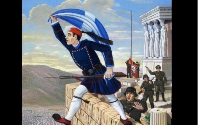 Κων. Κουκίδης: Ο Εύζωνας που πήδηξε από την Ακρόπολη με την ελληνική σημαία
