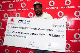Vodafone Lottery 25 Lakh