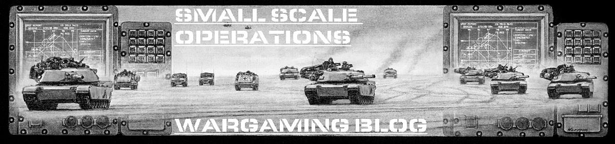SmallScaleOperations - Wargaming Moderns, Historical and Sci-Fi with 15mm, 20mm and 28mm Miniatures