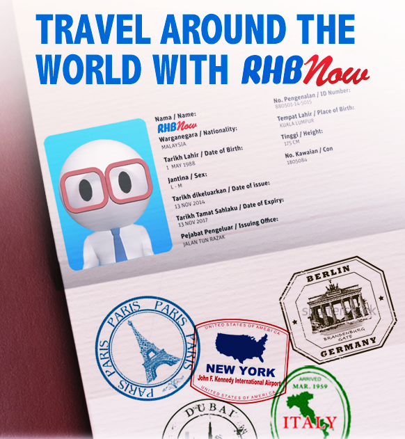 Travel Around The World With RHB