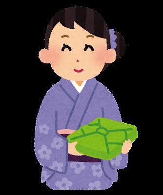 Woman okurimono