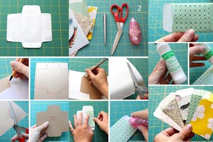 11+ Cara Mudah Membuat Amplop Dari Bahan Bekas