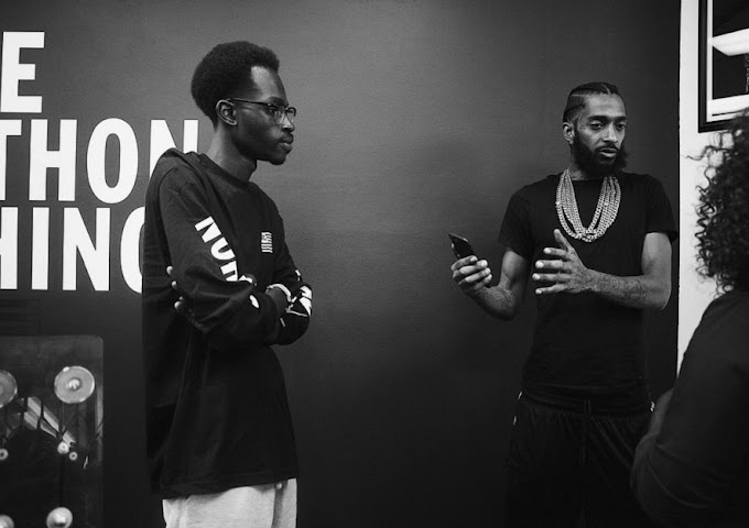 Ghanaian tech genius who helped Nipsey Hussle set up his smart store shares his fondest memories with the rapper