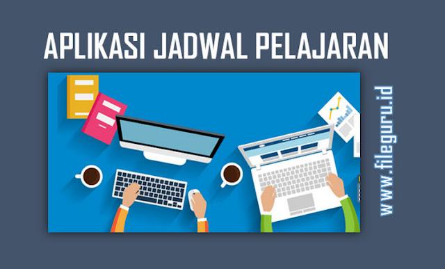 Aplikasi Jadwal Pelajaran Otomatis Tahun Ajaran 2017/2018