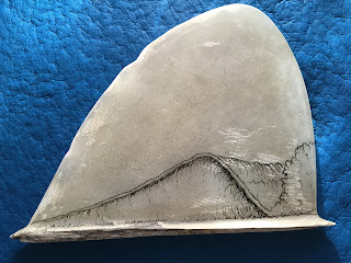Drawing waves by Paul Carter San Clemente, Ca