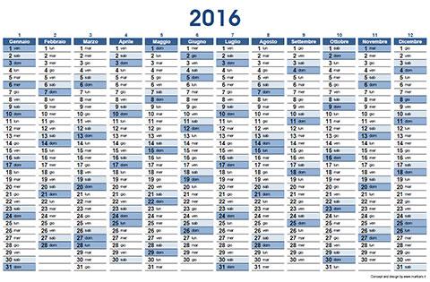 Calendario Con Numero Settimane.Calendario Numero Settimane Ikbenalles