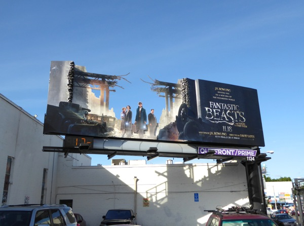Special Fantastic Beasts billboard