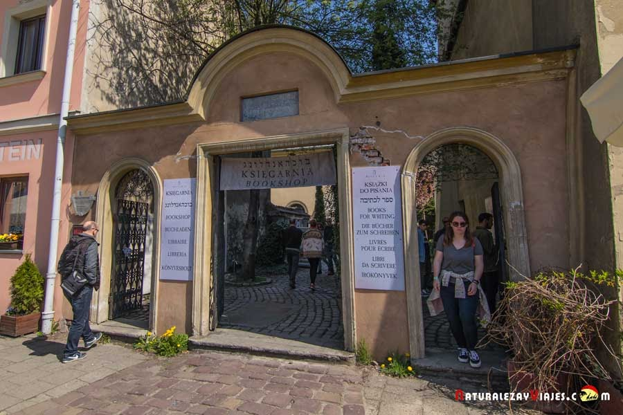 Sinagoga Poppera en Kazimierz, Cracovia