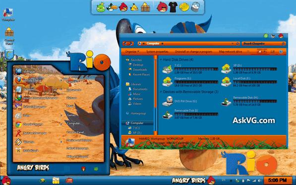 Windows themes pack.