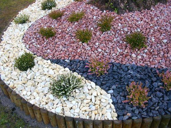 Decoracion Actual De Moda Jardin De Piedras Espectacular - Piedra-jardin