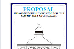 Proposal Permohonan Bantuan Dana Pembangunan Masjid