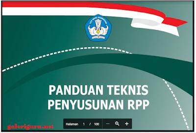 Panduan Penyusunan RPP Kurikulum 2013 PDF - Galeri Guru