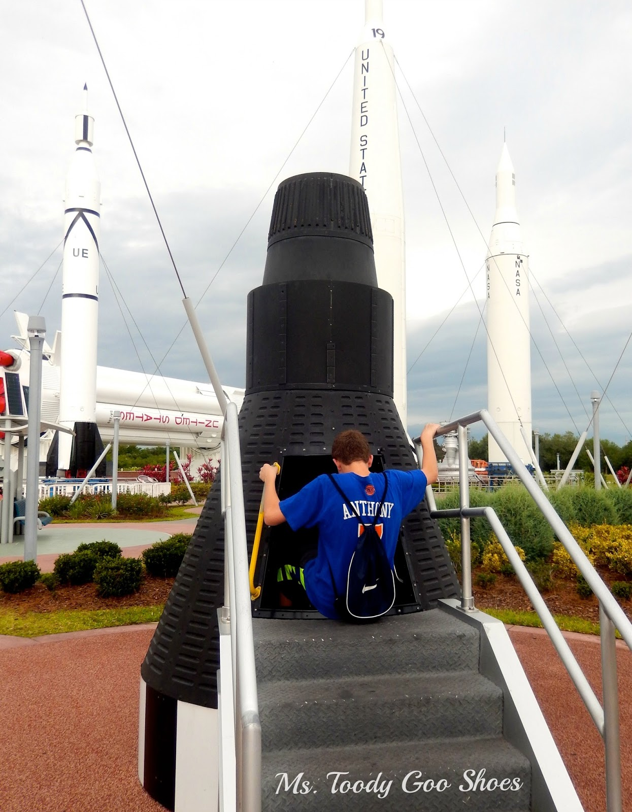 Kennedy Space Center --- Ms. Toody Goo Shoes