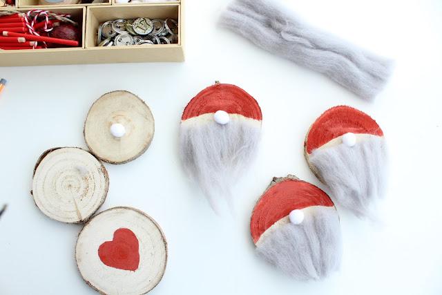 guirnalda navideña estilo nórdico diy