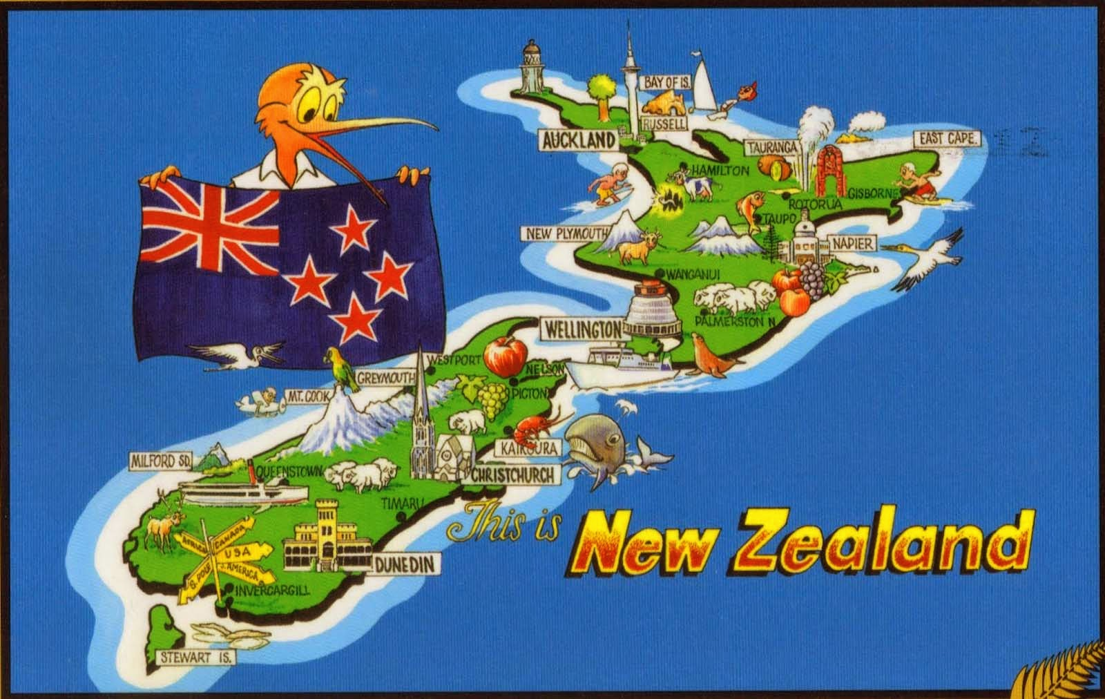 """Selandia Baru Picture: Kumpulan Materi: Negeri Kiwi """"Selandia Baru"""""""