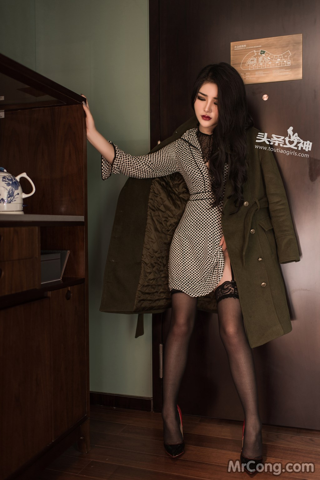 TouTiao 2017-02-15: Model Chen Yu Xi (陈宇曦) (30 photos)