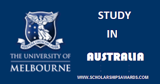 Melbourne Graduate Scholarships for International Students in Australia