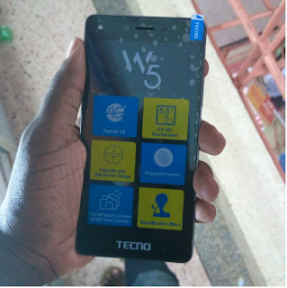 Specifications Of Tecno W5