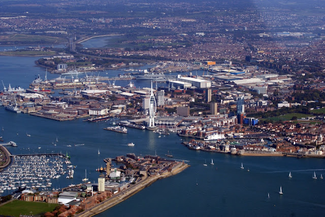OPINION | Portsmouth : Home of the British Navy - An Abandoned Ship