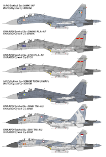 Sukhoi Su-30  Flanker-C