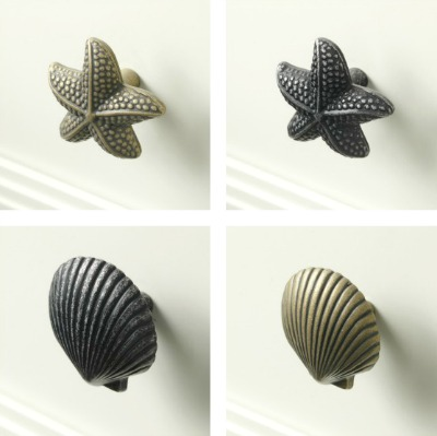 Starfish and Shell Knobs