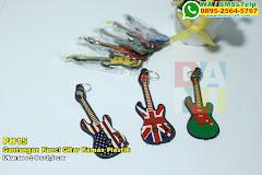Gantungan Kunci Gitar Kemas Plastik