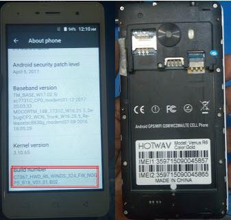 Hotwav Venus R6 Flash File Stock Rom SPD_6 0 Dead Recovery