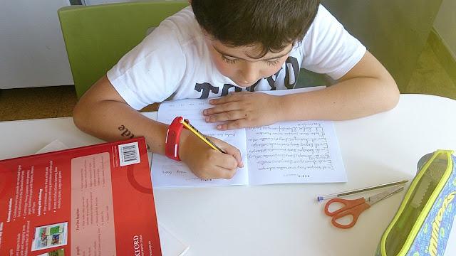 enseñar a escribir a los niños