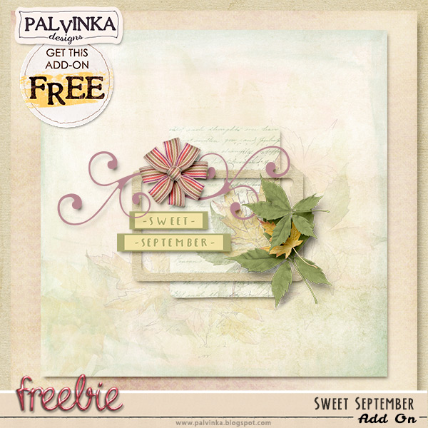 New Sweet September Collection and Freebie & CU store opening!