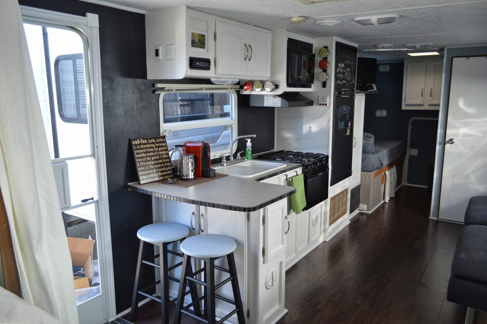 Rv Trailer Remodeling Ideas Photos Joy Studio Design