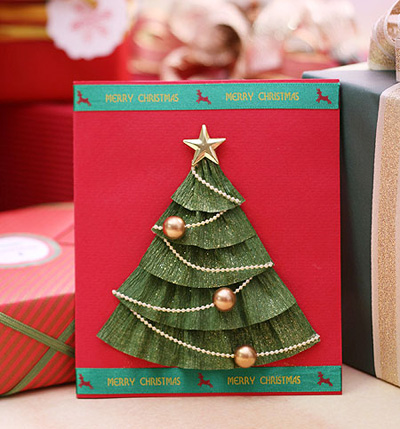 Manualidades Para Tarjetas Navideas - Manualidades-de-tarjetas-navideas
