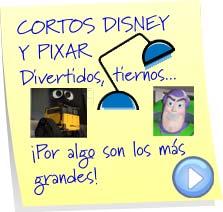 cortos disney pixar