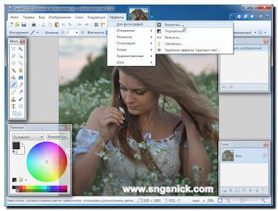 Paint.NET 4.0.12 Final - Эффекты