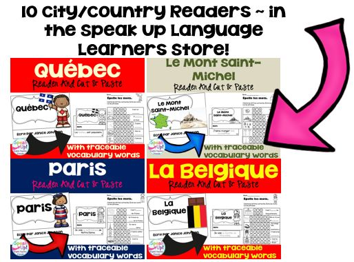 French-speaking city & country readers