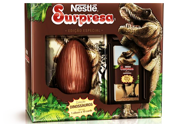 Ovo de pascoa Nestle Surpresa
