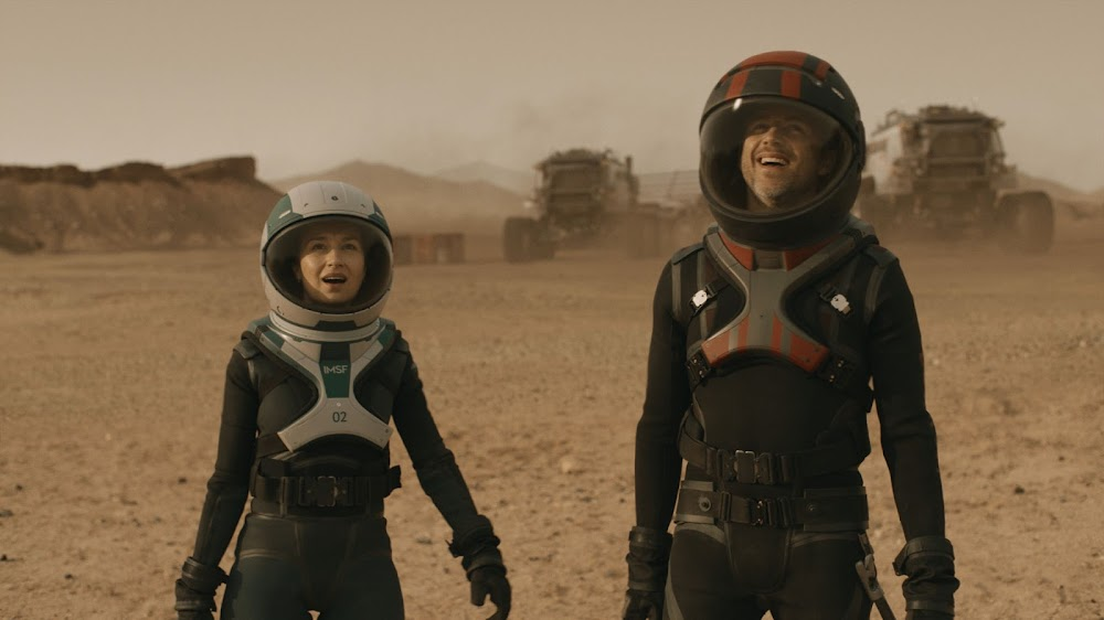 National Geographic 'Mars' TV series - season 2 (s02) - astronaut and miner