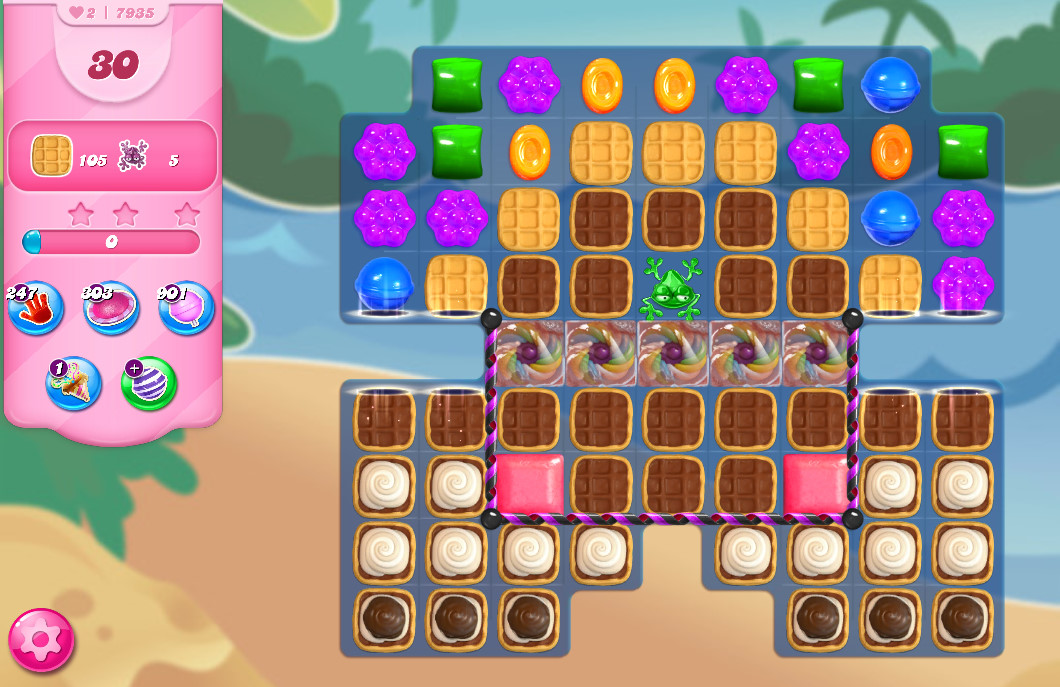 Candy Crush Saga level 7935
