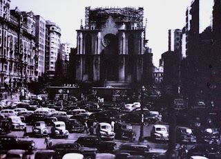 Catedral da Sé, em São Paulo - Construção da Fachada