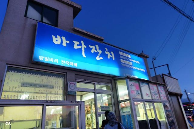 Bada Janchi 바다잔치 Jeju Korea Curitan Aqalili
