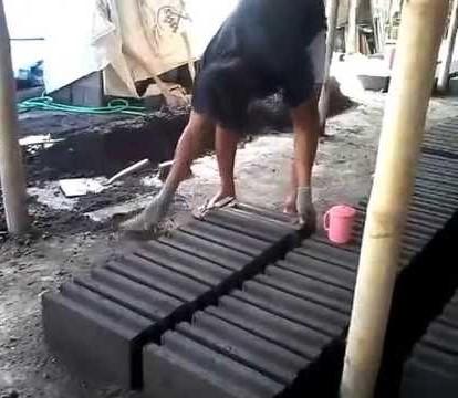 Cara Membuat Batako Dengan Sistem Manual