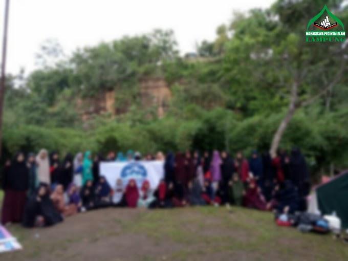 Jalin Solidaritas, Muslimah MPI Lampung Selenggarakan Acara Outbound dan Kemah